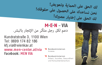 MEN VIA Flyer Arabisch